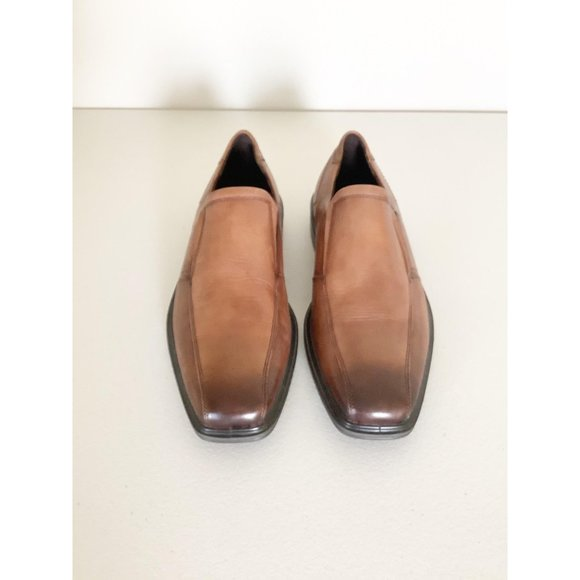 Ecco Minneapolis Brown Leather Slip-On Loafer 10